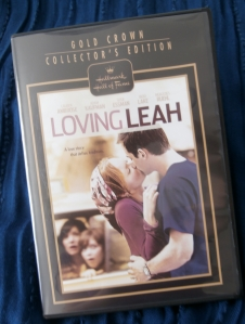 DVD of Hallmark film Loving Leah