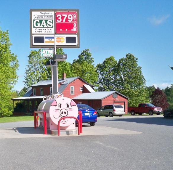 pink pig propane tank