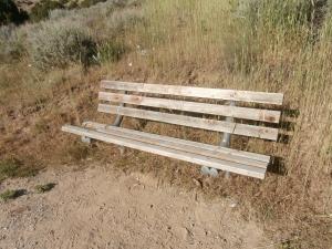 A plain bench