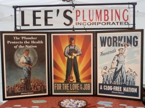 plumbing posters