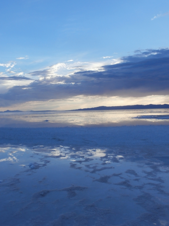 Sunset at Spiral Jetty