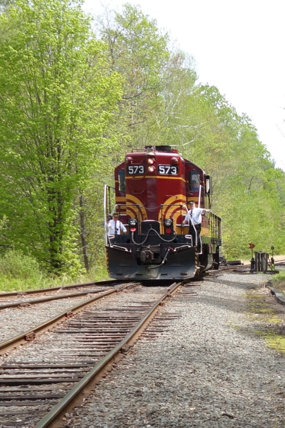 Scenic Conway Railroad engine