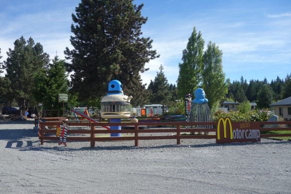 A motor camp playground